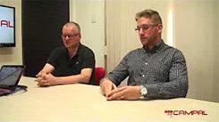 Confira a entrevista com Edésio Fuga e Eduardo Martin